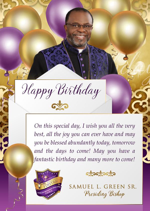 Happy Birthday Postcard Design
