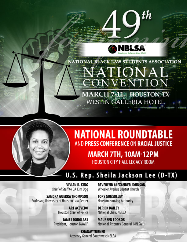 National Convention Flyers