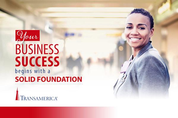 Business Success Postcard