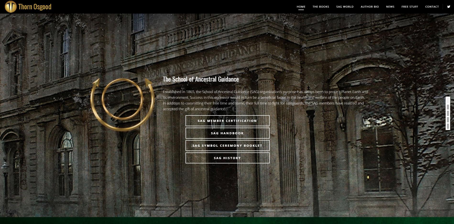 Thorn Osgood Website Design